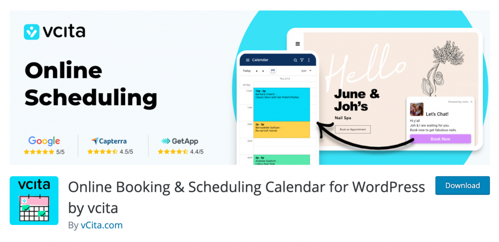 online scheduling plugin wordpress