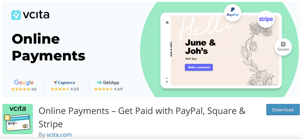 payment plugin vcita