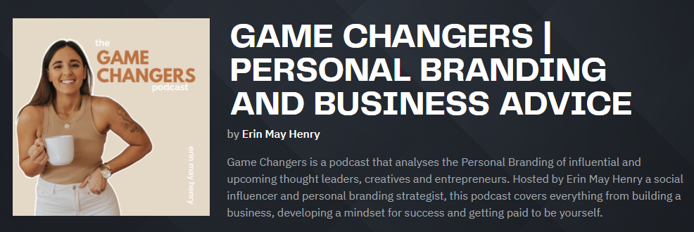 game changer acast personal branding
